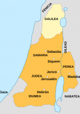 Map of New Testament locations